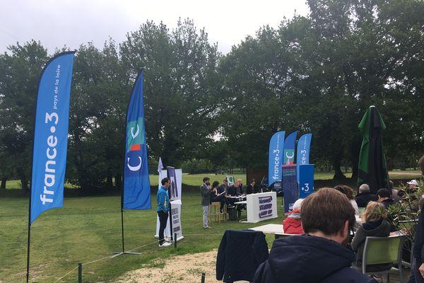 Concours de pitchs de la startup golf cup de Nantes 2019