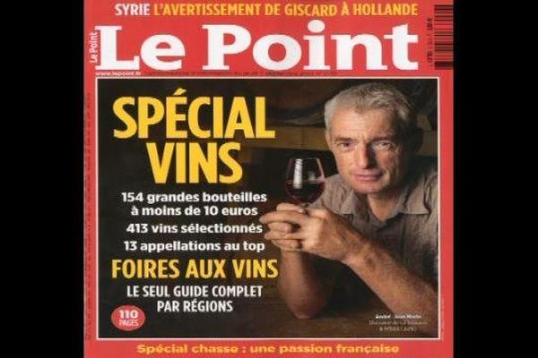 André-Jean Morin à la une de l'hebdomadaire Le Point