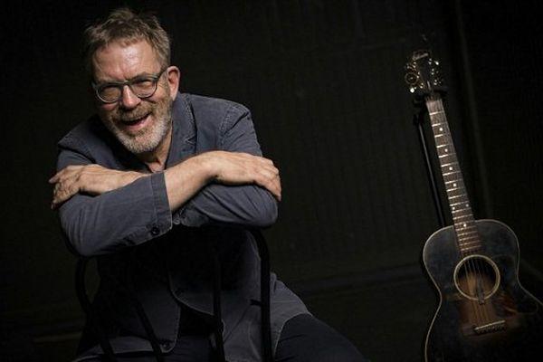 Le chanteur Dick Annegarn