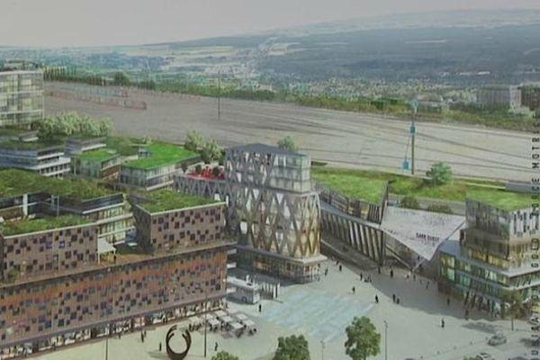 Le projet Interives au nord de l'agglomération orléanaise a prise à 80% sur le territoire de Fleury-les-Aubrais et à 20% sur celui d'Orléans.