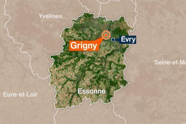 Grigny (Essonne).