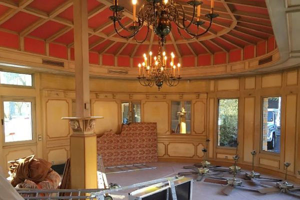 Collonges-au-Mont-d'Or  : le restaurant Bocuse en travaux