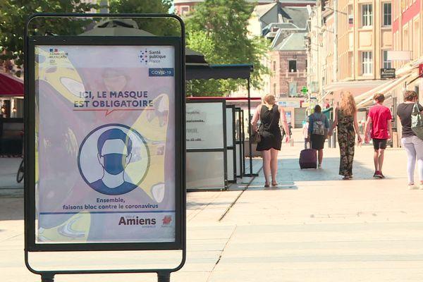 Le port du masque est obligatoire dans les rues d'Amiens depuis le 7 août 2020
