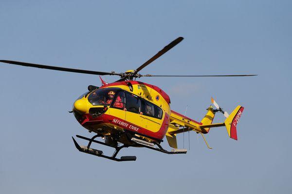 Photo d'illustration hélicoptère de la sécurité civile