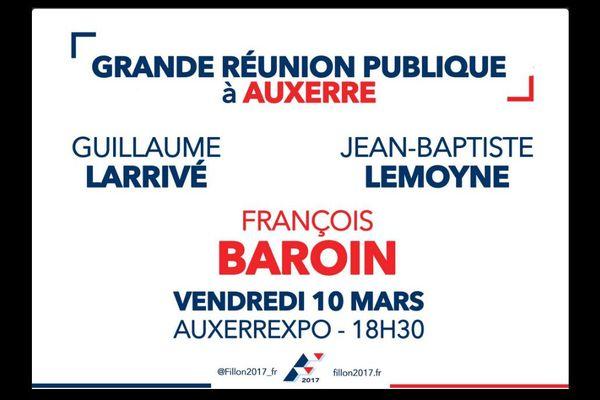 Mais où est François Fillon sur l'affiche ?