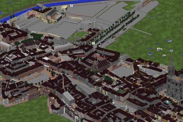 Un bon tiers de la Grande Île a été reconstruite sur un serveur Minecraft.