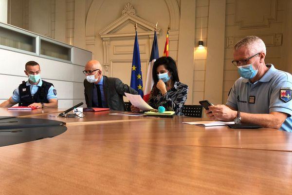 Xavier Bonhomme, procureur de la République de Nice a tenu une conférence de presse ce mercredi 14 octobre sur les conséquences de la tempête Alex qui a durement touchée les Alpes-Maritimes.
