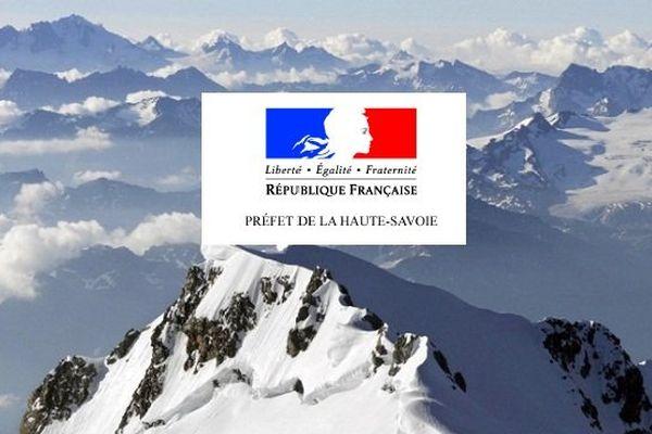 La Préfecture de Haute-Savoie publie craint des avalanches et glissades sur des névés en haute et moyenne montagne.