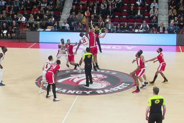 Le Sluc Nancy Basket redoute d'être privé de son public.