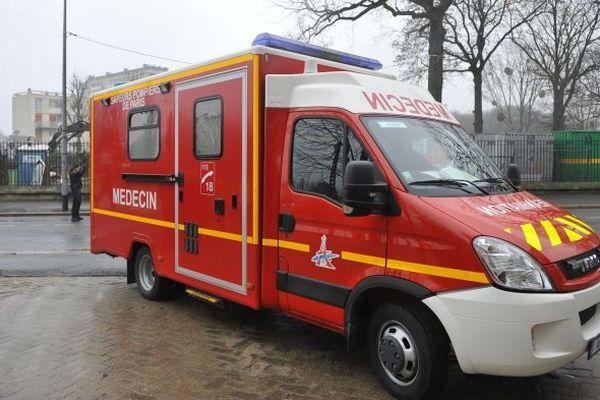 Ambulance -Image d'illustration