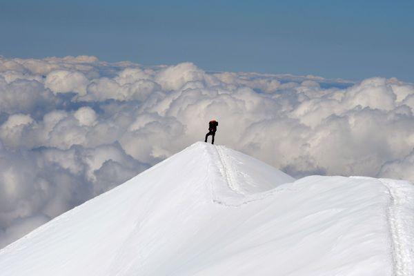Sommet du Mont-Blanc - Photo d'illustration
