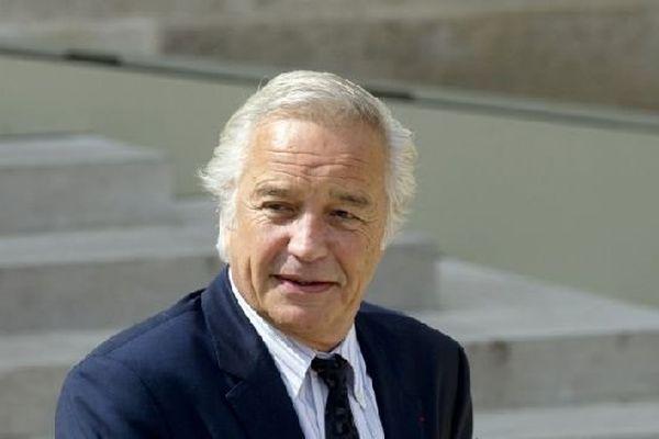 Francois Rebsamen, ministre du Travail, de l'Emploi et du Dialogue social