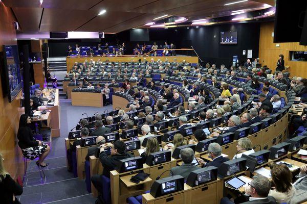 Séance plénière du Conseil de la Métropole Aix Marseille Provence dans l'hémicycle du Pharo, le 28/02/2019 .