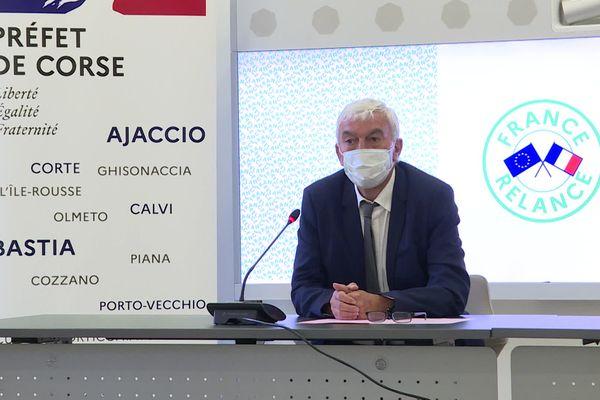Patrick Bernie a pris ses fonctions de sous-préfet à la relance en Corse ce lundi 3 mai.