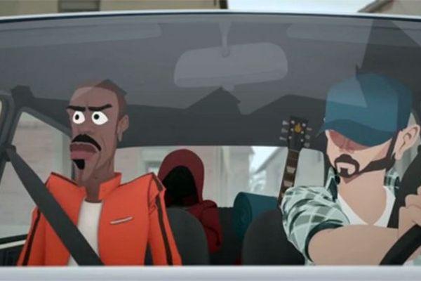 Capture d'écran du nouveau clip de Skip the use.