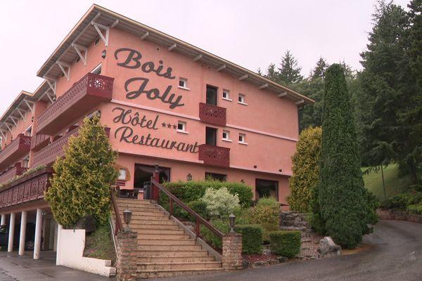 """L'Hôtel du Bois Joly à Crozet (Ain) a reçu le label """"Covid-free""""."""