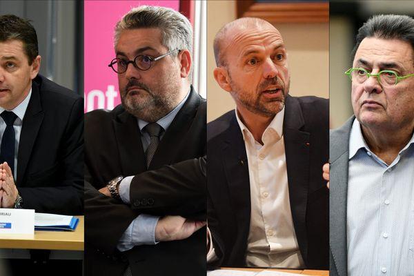 Gaël Perdriau / Olivier Bianchi / Jean-François Debat / Jean-Paul Bret