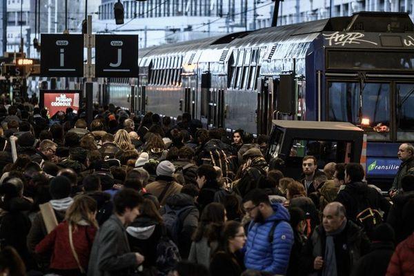 Il s'agit du 19e jour de grève dans les transports franciliens.