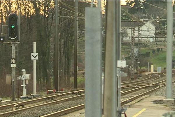 Gare d'Ambazac, l'une des gares visées par la mesure qui pourrait rentrer en fonction en mars 2019