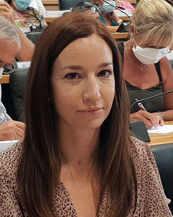 Leslie Pellegri est la secrétaire régionale d'Europe Ecologie Les Verts.