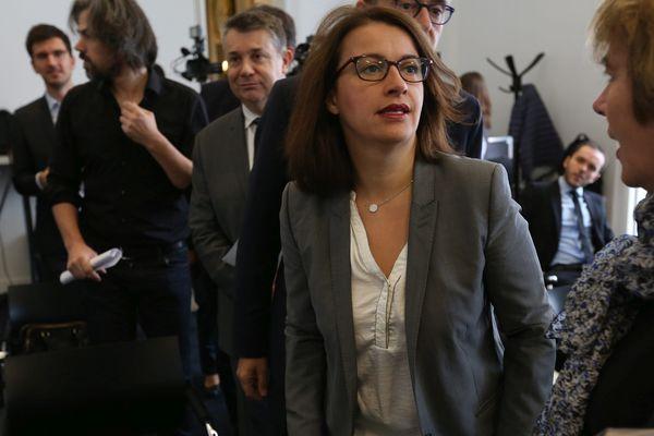 Cécile Duflot était ce jeudi à Orléans pour soutenir la liste Europe Ecologie Les Verts