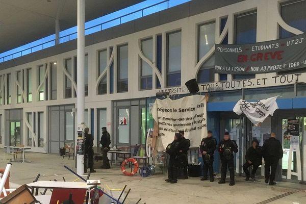 L'université Jean-Jaurés a été débloquée ce mercredi matin