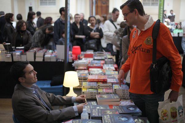 Archive : En 2010, Maxime Chattam avait rencontré ses lecteurs au festival