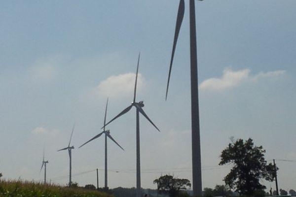 Inauguration de parcs éoliens en Creuse