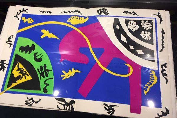 """Le clou de la vente sera un exemplaire de l'album""""Jazz"""" de Matisse"""