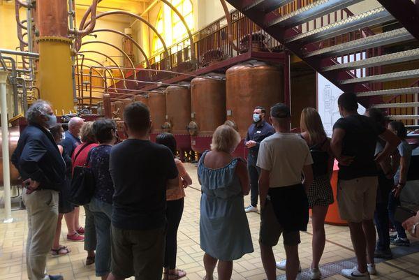 Visite de la distillerie Cointreau
