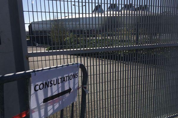 Des consultations médicales, concernant le coronavirus, sont menées à la Brest Arena.