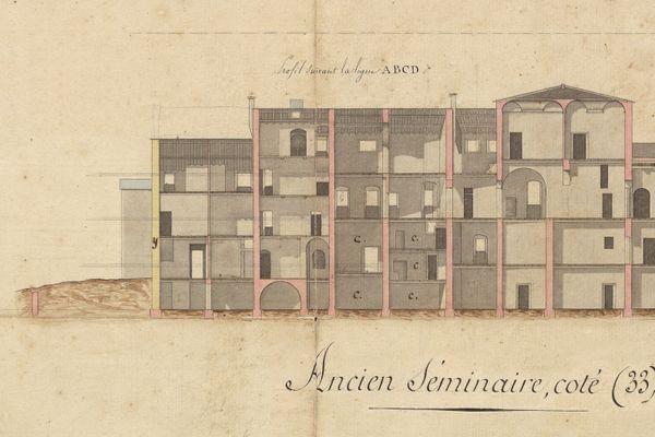 Bastia : le séminaire est un lieu historique de la formation des clercs.