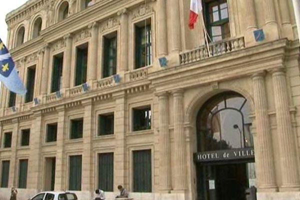 l'hôtel de ville de Cannes