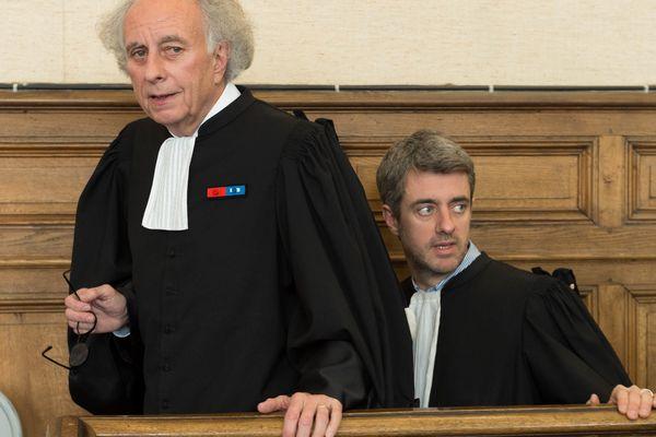 Gilles-Jean (à gauche) et Renaud Portejoie, avocats de Cécile Bourgeon, ont décidé de déposer un pourvoi en cassation
