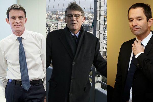 Si Manuel Valls a le plus de parrainages en Limousin, Vincent Peillon et Benoît Hamon apparaissent aussi dans la recherche de Franceinfo.