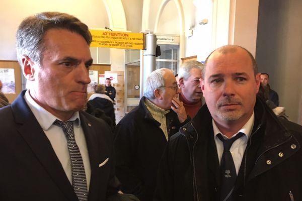 Gilles Soulié, ex-SRPJ Montpellier et Vincent Delbreilh, antenne judiciaire de Perpignan ont raconté 20 ans d'enquête