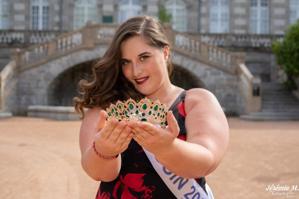 Gwendoline Courtin Miss Beauté Limousin 2020