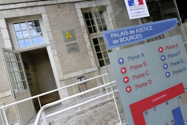 Le palais de justice de Bourges où les Assises du Cher se sont ouvertes, mercredi, pour le procès d'un homme de 22 ans jugé pour avoir violé des enfants confiés à sa mère