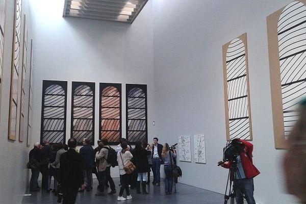 La presse internationale a visité le musée Soulages, quelques jours avant le grand public...