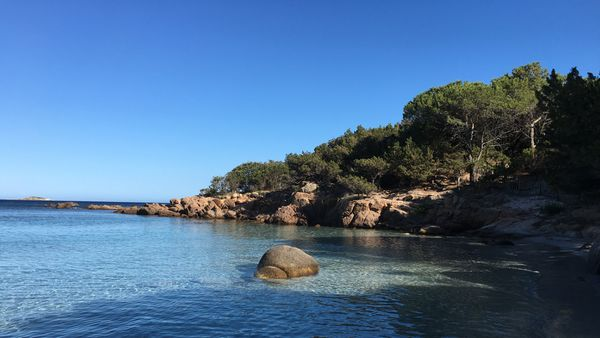 Plage de Santa Giulia, Corse du Sud