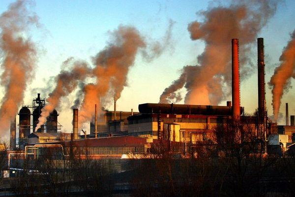 L'usine Metaleurop de Noyelles-Godault en 2003.
