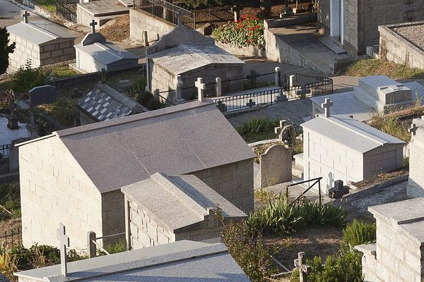 Illustration - C'est au cimetière de Bastia, à Montesoro, que les faits se sont déroulés