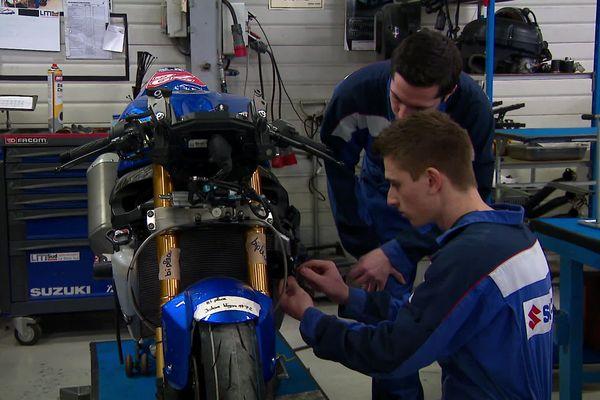 La Team Junior Suzuki du lycée le Mans sud, tremplin pour jeunes mécaniciens