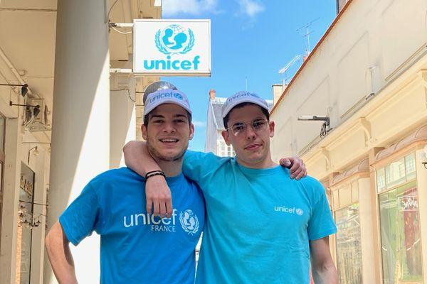 Loïs Patton et Nicolas Poirel vont rallier, lundi 3 mai, Clermont-Ferrand à Vichy pour récolter des fonds pour l'association Unicef.