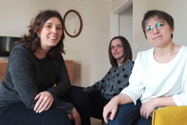 """Trois collègues devenues """"colocataires"""" pour être au plus près de leur mission"""