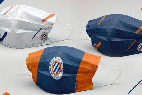 Les masques du MHSC ont été vendus le 5 mai 2020 au profit du CHU de Montpellier.