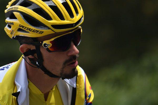 Lors de la 3e étape du Tour de France, lundi 31 août, Julian Alaphilippe est parvenu à conserver le maillot jaune.