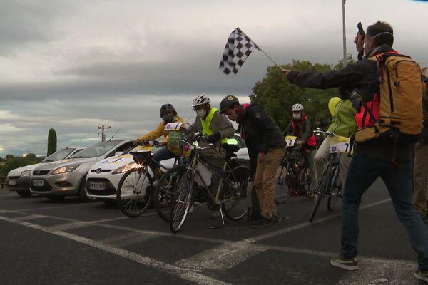 Top départ de la course de l'Ouest Montpelliérain