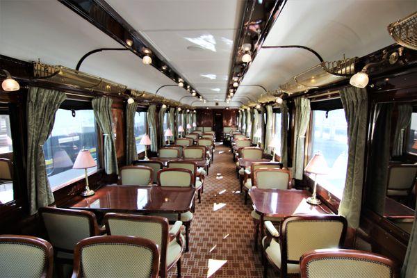 À l'occasion des Journées du patrimoine, la gare Lille Flandres accueille jusqu'à dimanche 19 septembre 2021, l'Orient-Express.
