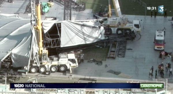 Image de la catastrophe en 2009.